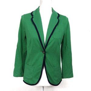 T610 SO Blazer Green Navy Light Sweatshirt Type M
